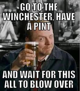 At the Winchester!