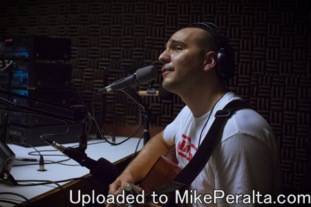 "Mike Peralta at 89.5FM KTST Anaheim -Mike Peralta, live performance and interview on ""The Kay Show"", 89.5FM KTST Anaheim"