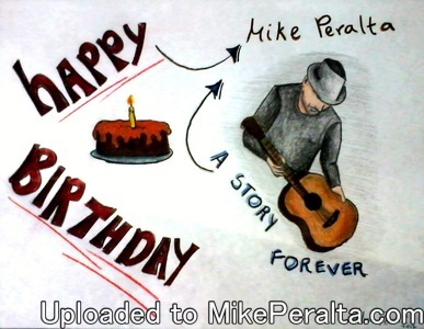 Melissa - Happy Birthday -Melissa Perez C.'s happy birthday note to Mike Peralta