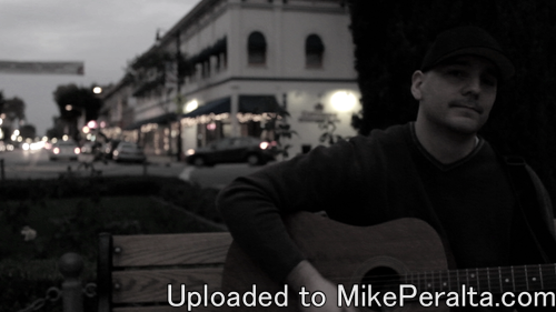 Mike Peralta - I Heard - Official Music Video -Screen grab of Mike Peralta - I Heard, Official Music Video