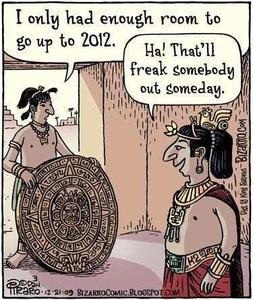 Mayan Calendar Cartoon